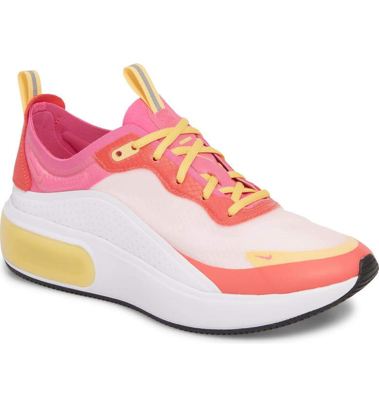 78f7f19a13 Air Max DIA SE Running Shoe, Main, color, WHITE/ FUCHSIA/ EMBER