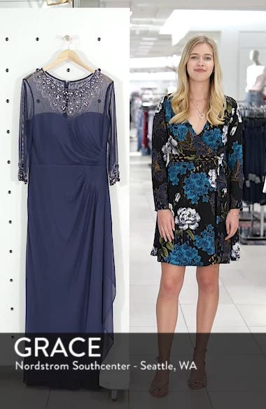 Embellished Chiffon Gown, sales video thumbnail