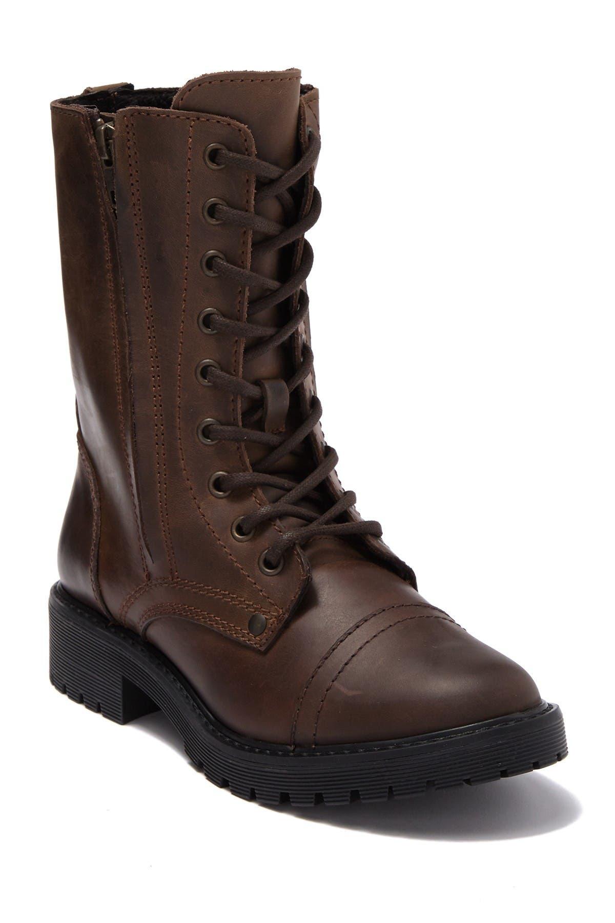 Zigi girl   Rosaline Leather Combat