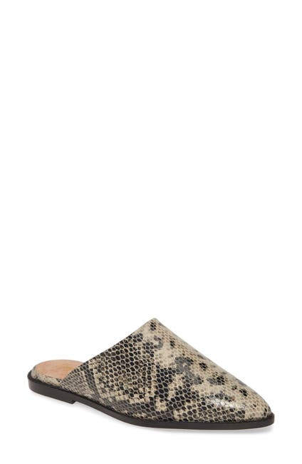 Image of Seychelles Impersonate Textured Leather Mule