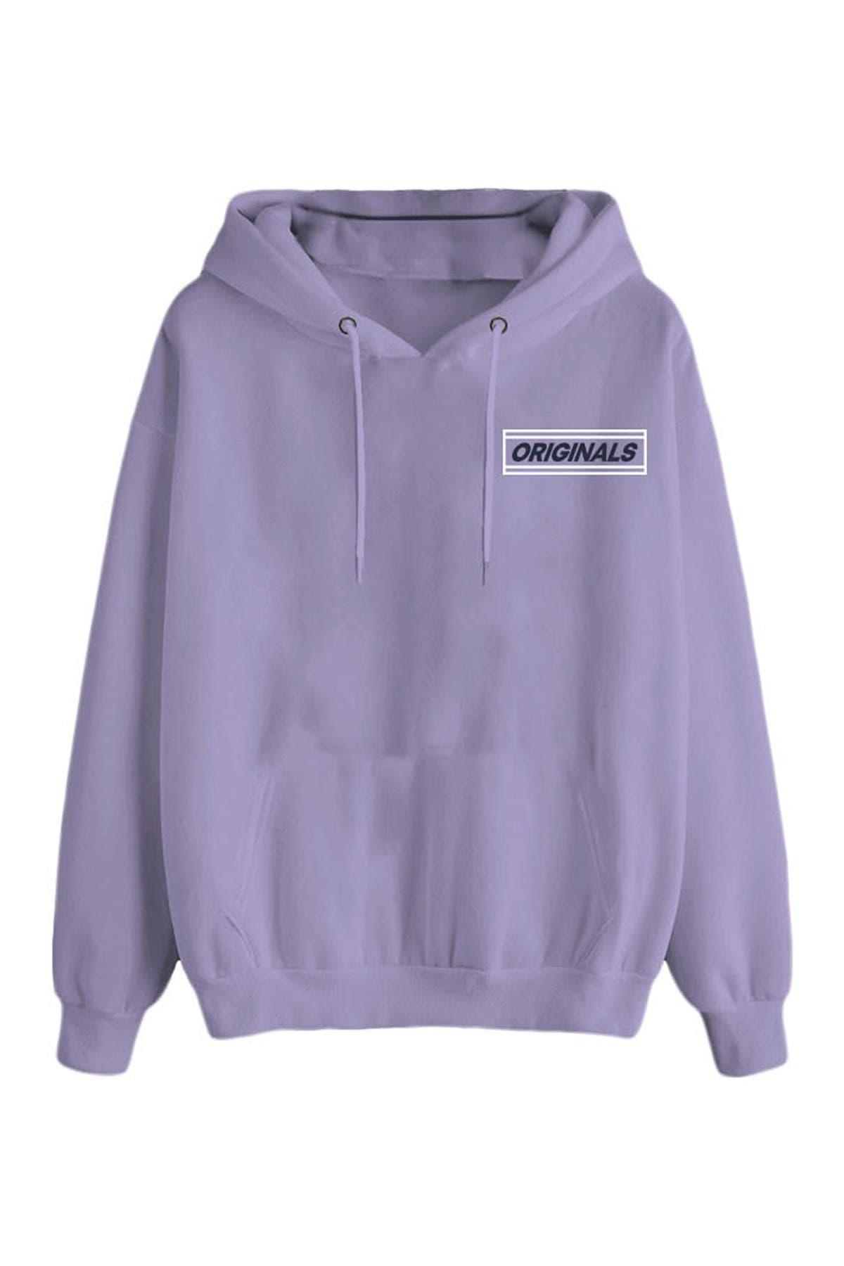 Image of JACK & JONES Graphic Hooded Sweatshirt