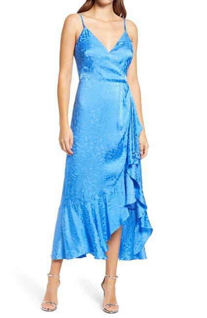 Image of Adelyn Rae Verbena Jacquard Cocktail Dress