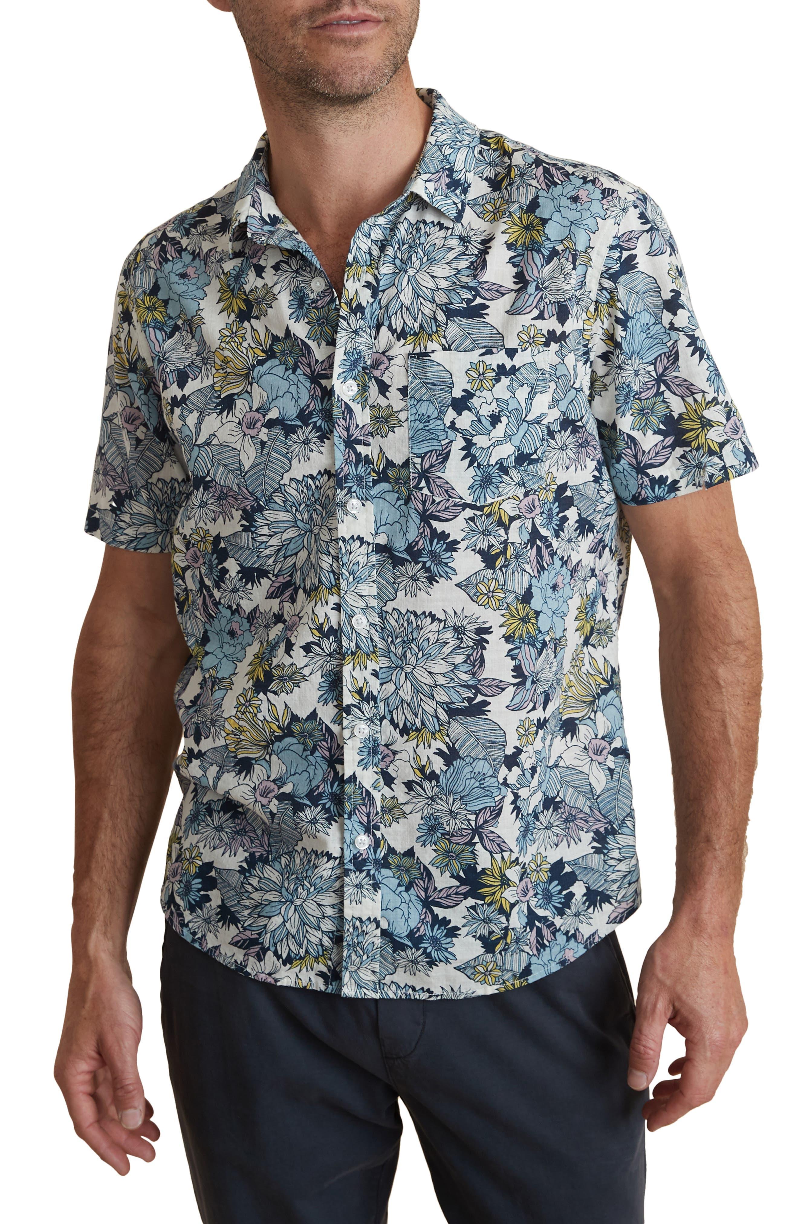 Bolton Tropical Short Sleeve Button-Up Shirt