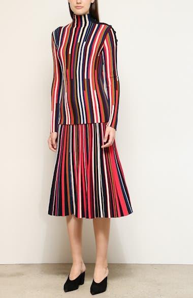 Multicolor Fine Gauge Wool Turtleneck, video thumbnail