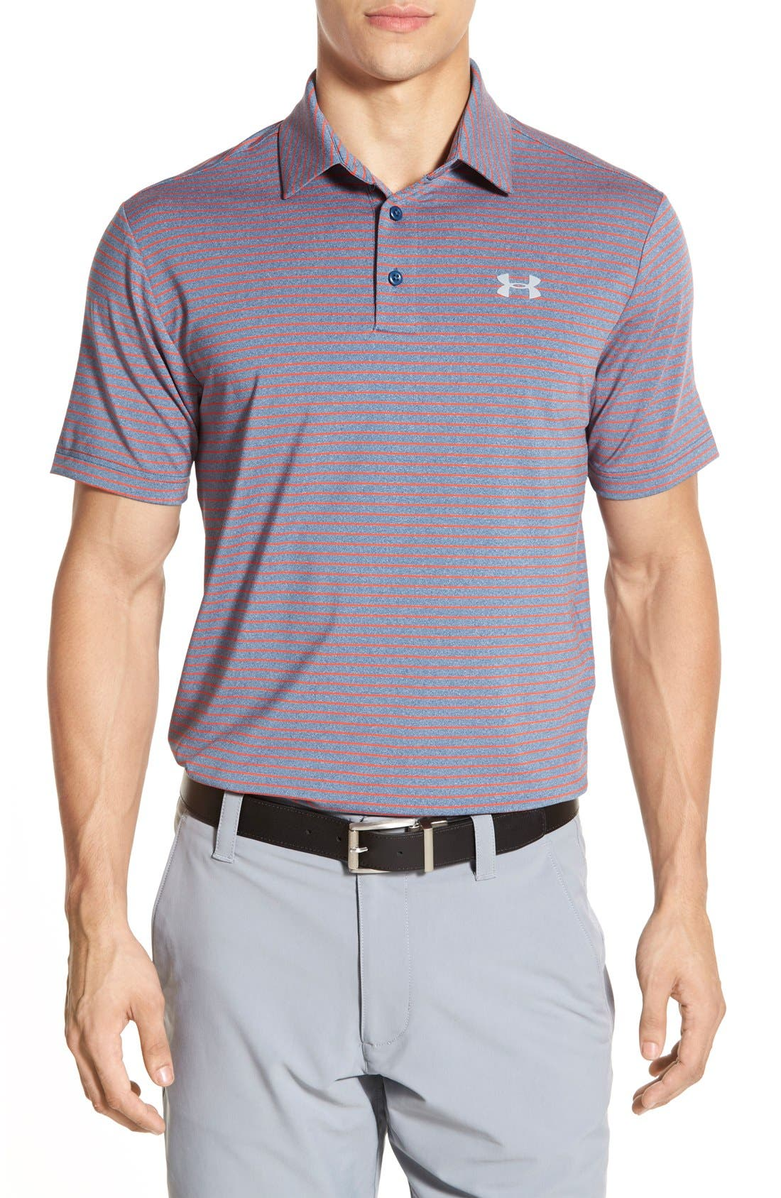 ,                             'Playoff' Loose Fit Short Sleeve Polo,                             Main thumbnail 263, color,                             439