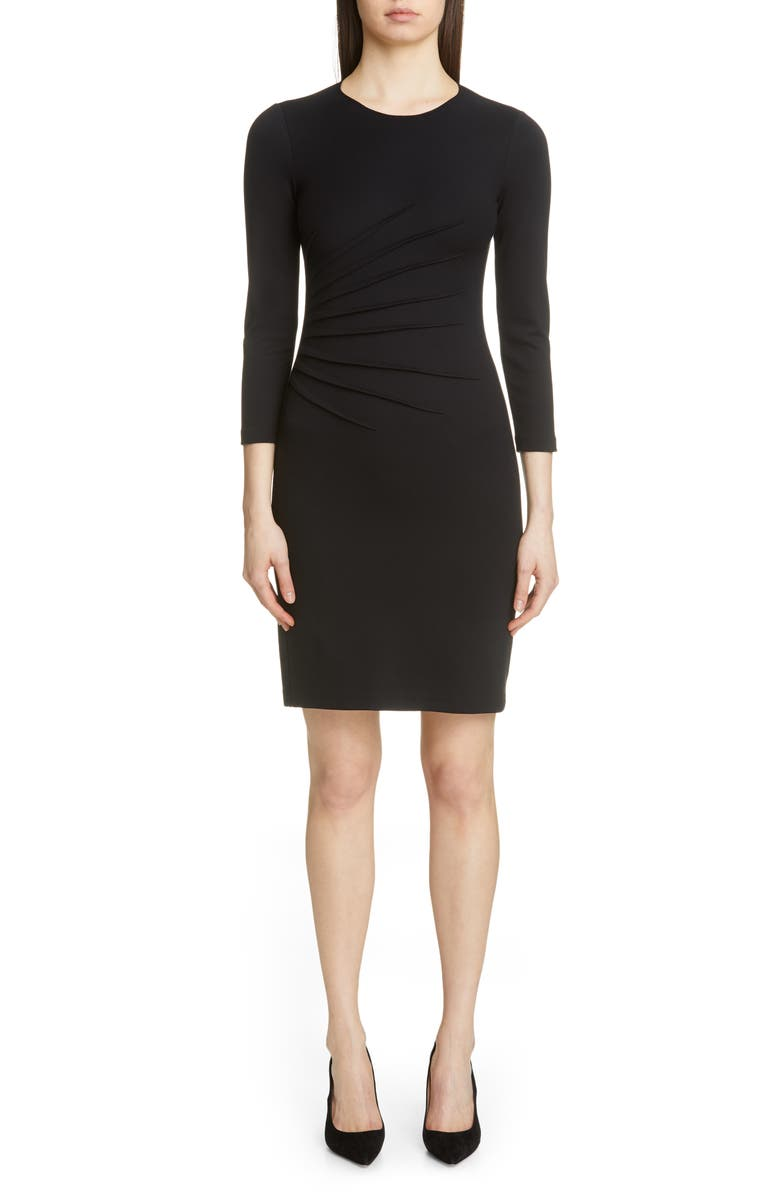 EMPORIO ARMANI Dress, Main, color, BLACK