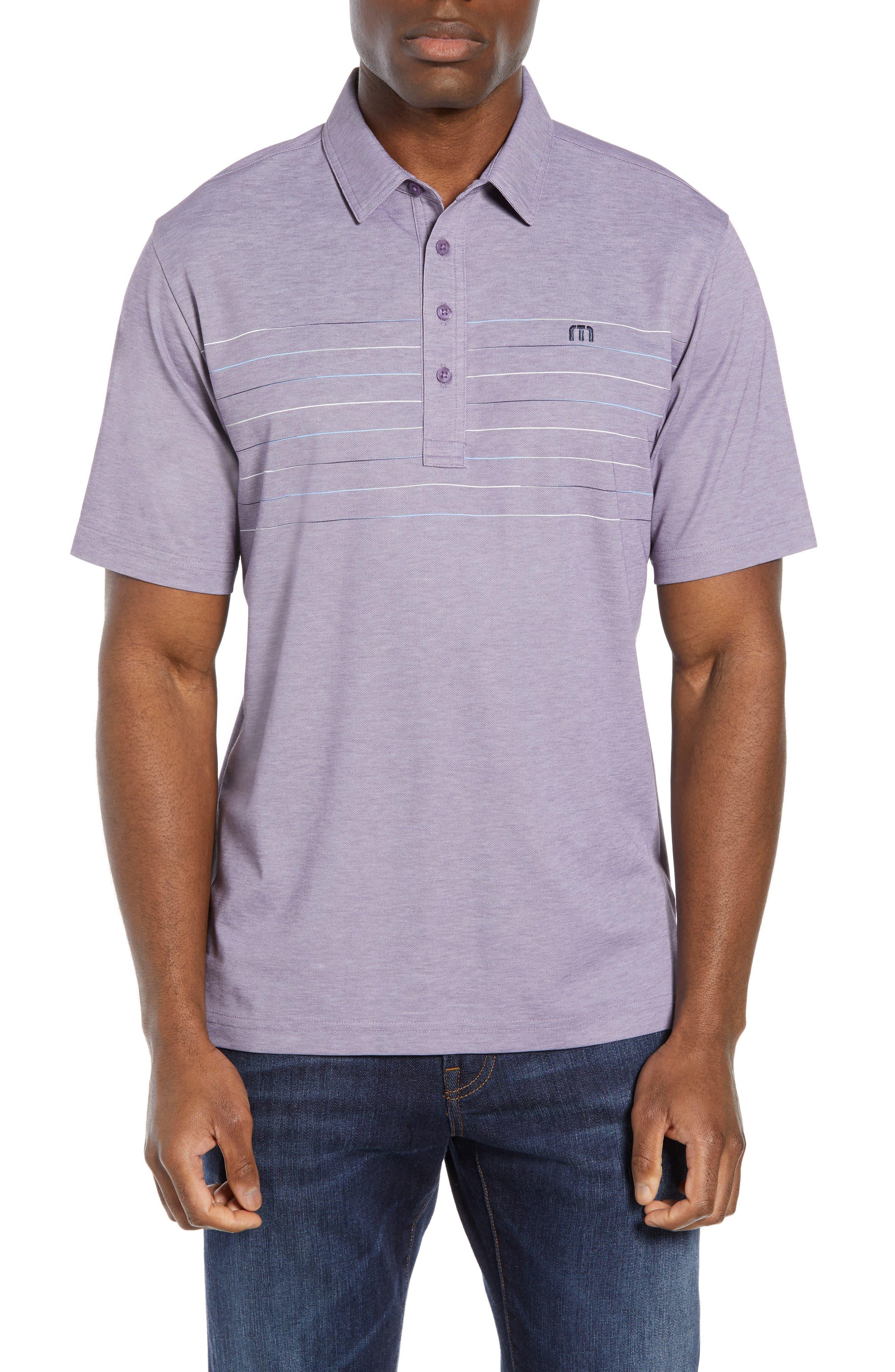 Travismathew Good Good Polo Shirt,  Purple