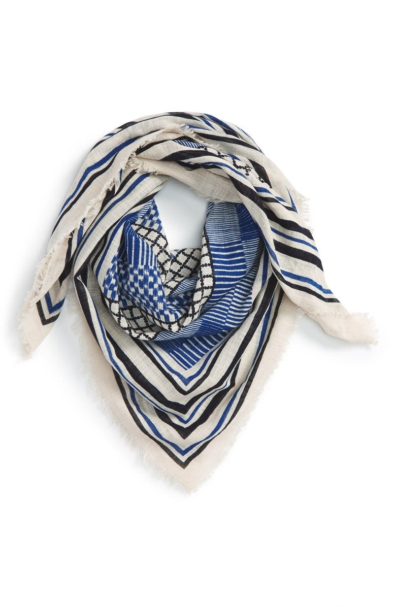 BP. Mixed Pattern Cotton Scarf, Main, color, 900