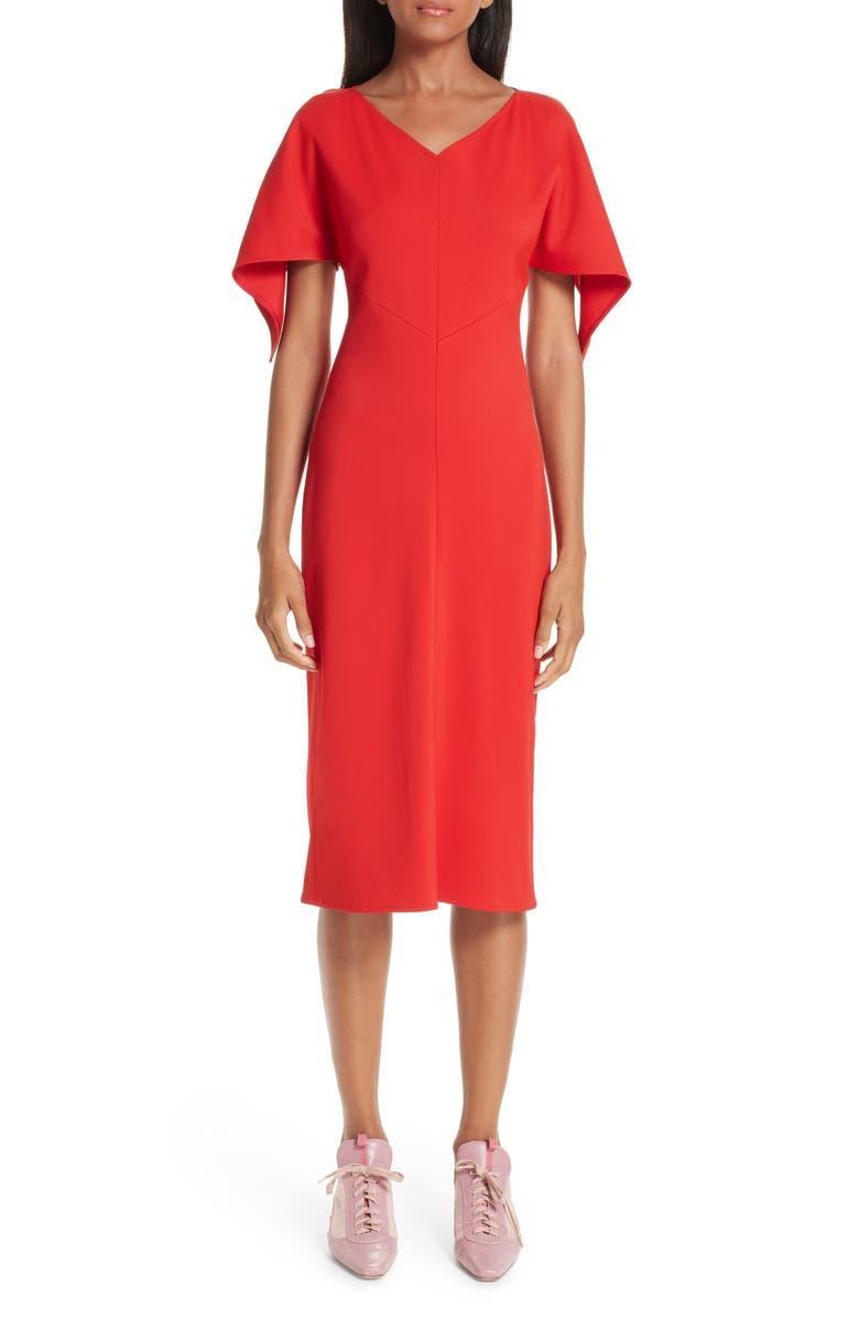 SIES MARJAN Olivia Drape Sleeve Dress, Main, color, 600