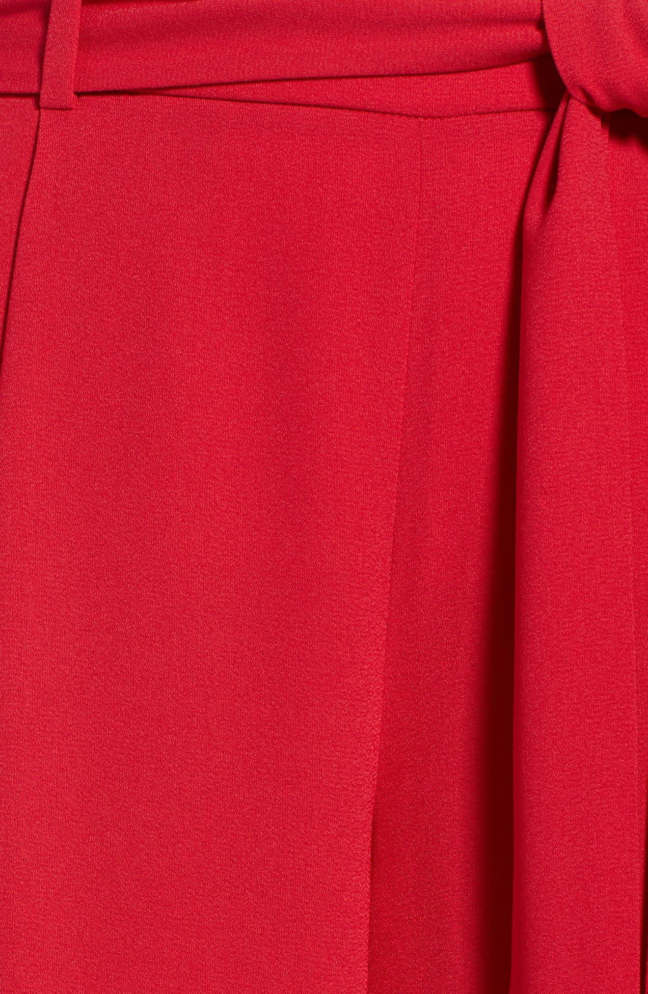 ,                             Wide Leg Crop Pants,                             Alternate thumbnail 81, color,                             610