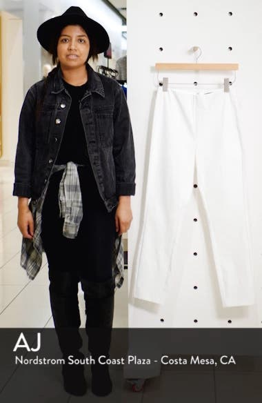 'Simone' Slim Ankle Pants, sales video thumbnail