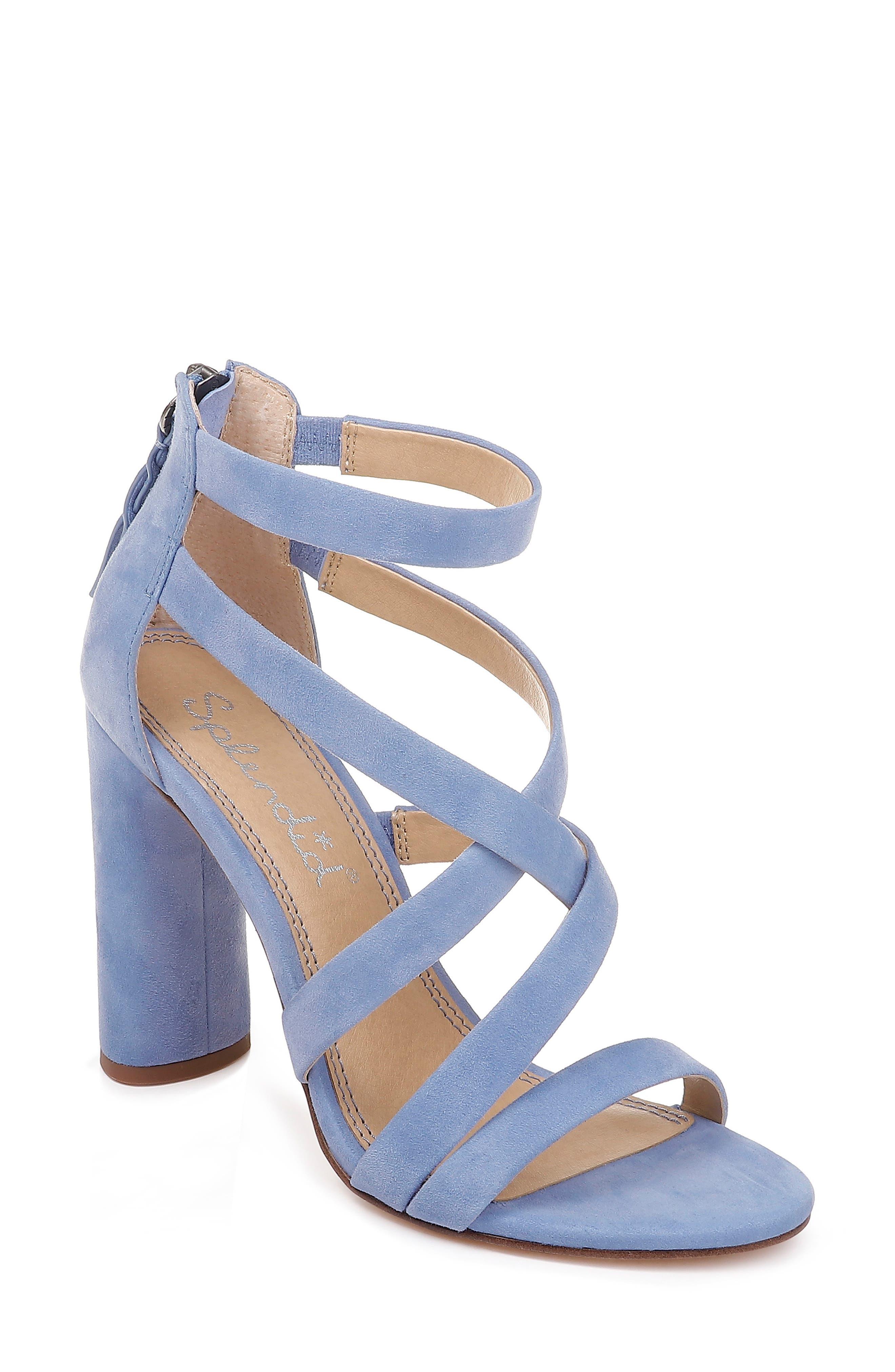 1c287c7b99 Splendid Stuart Block Heel Sandal, Purple