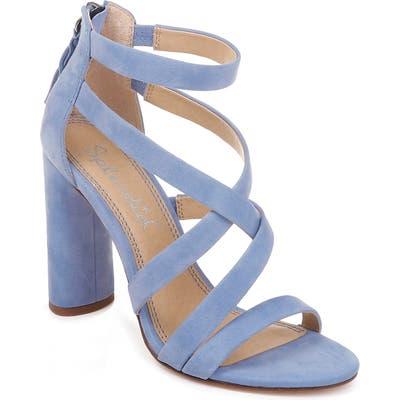 Splendid Stuart Block Heel Sandal, Purple