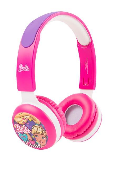 Image of VIVITAR Barbie Kid Safe Headphones
