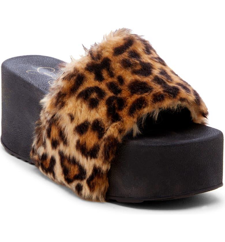 JESSICA SIMPSON Platform Slide Sandal, Main, color, 200