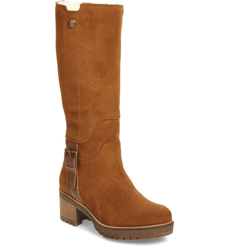 BOS. & CO. Major Waterproof Boot, Main, color, TAN/ CAMEL SUEDE