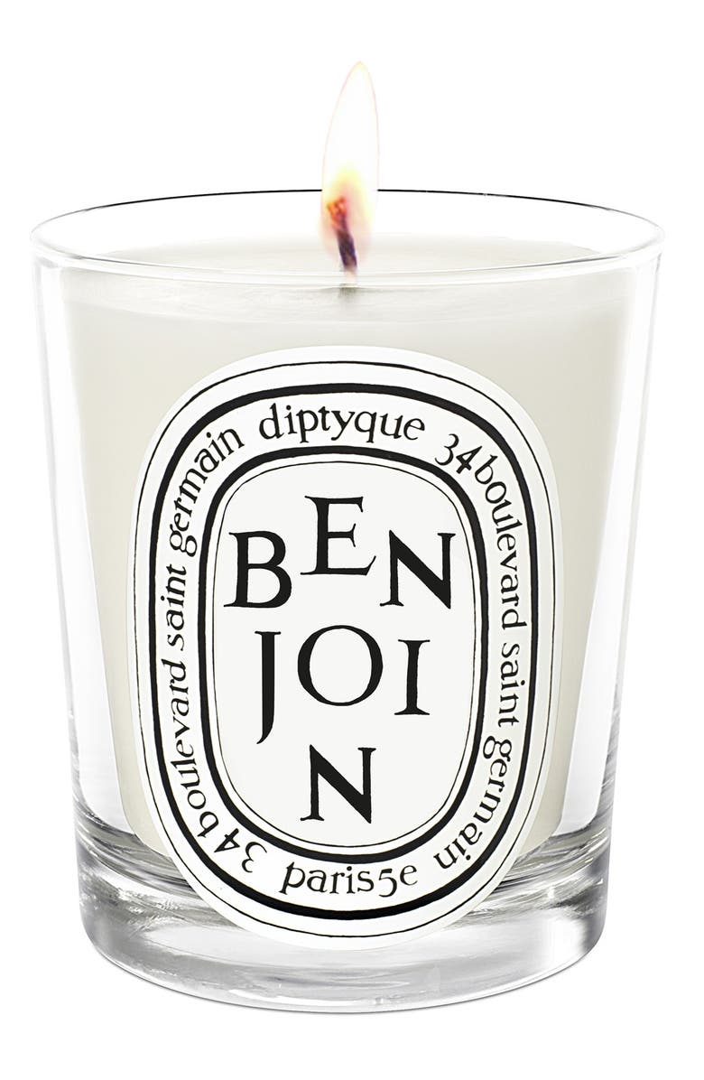 DIPTYQUE Benjoin Scented Candle, Main, color, NO COLOR