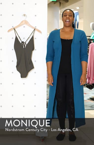 Salt Water One-Piece Swimsuit, sales video thumbnail