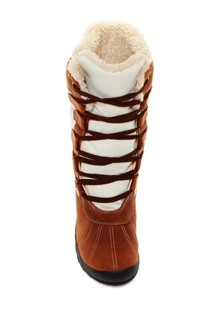 Image of Timberland Mount Hayes Tall Waterproof Faux Shearling Lined Boot