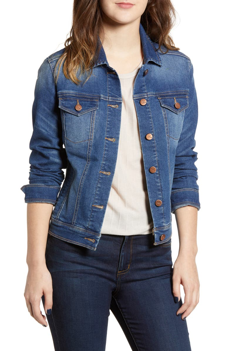 1822 DENIM Heritage Denim Jacket, Main, color, AXE