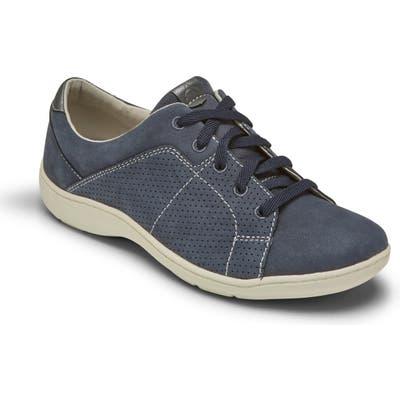 Aravon Lia Tie Sneaker, Blue