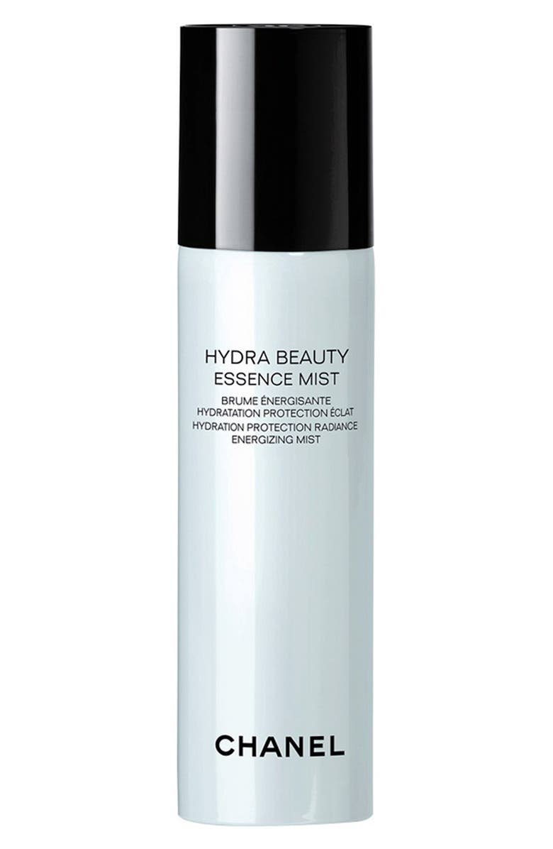 CHANEL HYDRA BEAUTY ESSENCE MIST <br />Hydration Protection Radiance Energizing Mist, Main, color, NO COLOR