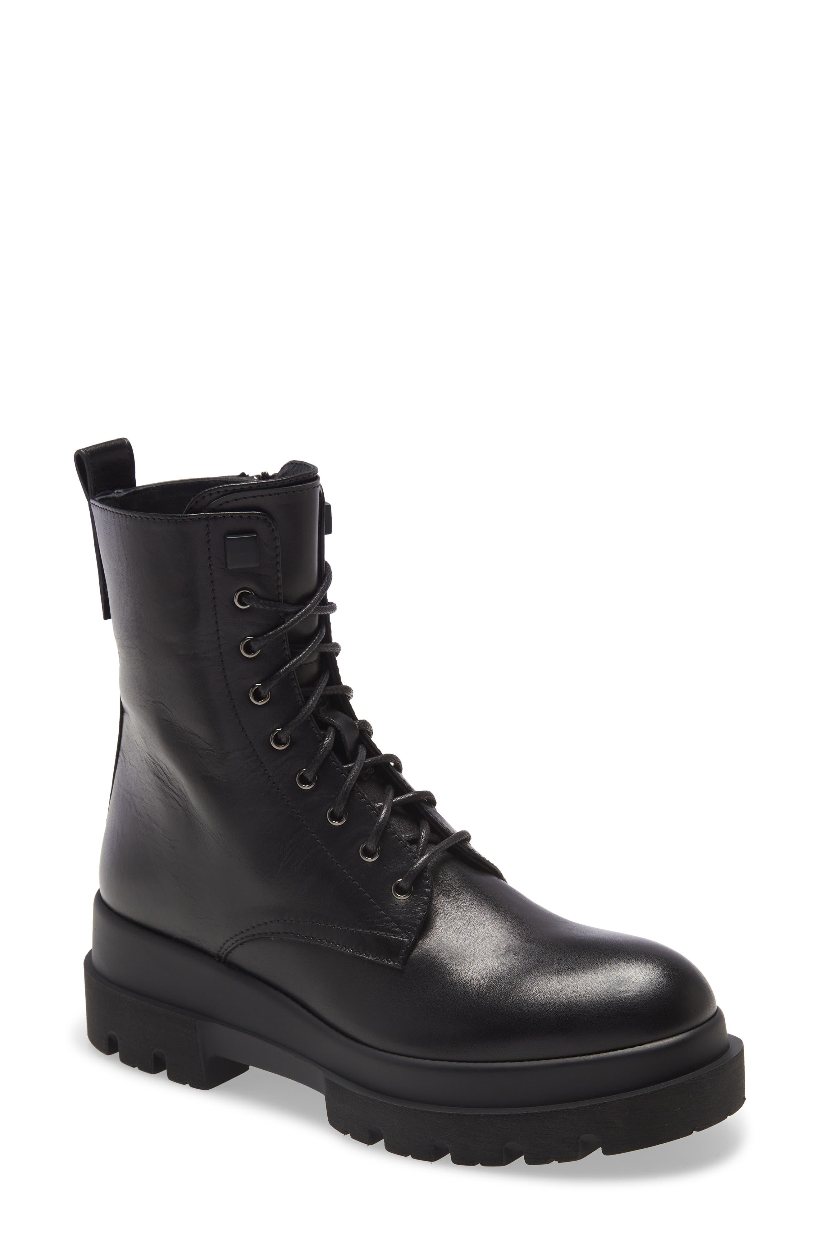 Brendan Waterproof Combat Boot