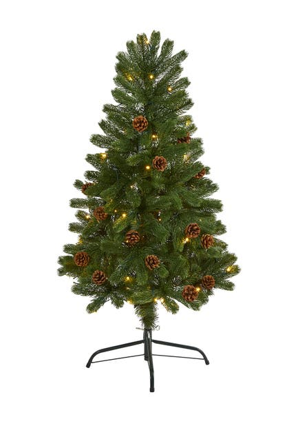 Image of NEARLY NATURAL 4ft. Rocky Mountain Spruce Artificial Christmas Tree