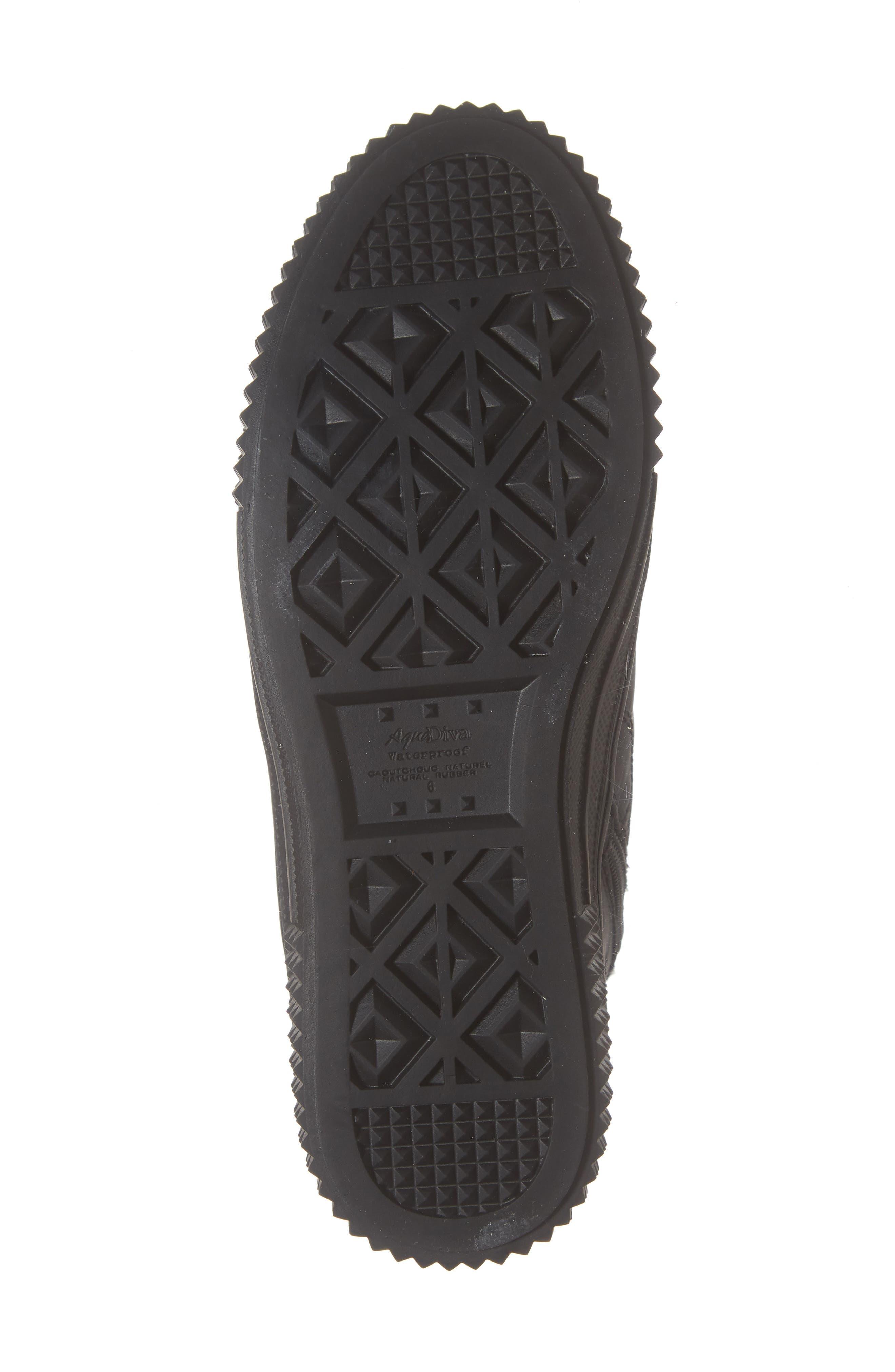 ,                             Ithaca Waterproof Sneaker Bootie,                             Alternate thumbnail 6, color,                             BLACK LEATHER