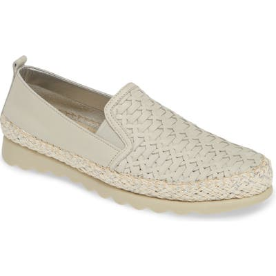 The Flexx Chapter Woven Slip-On Sneaker, Grey