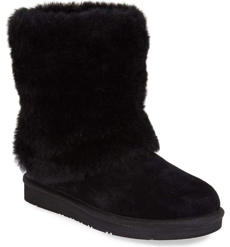 98f02043fd2 'Patten' Water Resistant Silkee™ Suede Shearling Cuff Boot