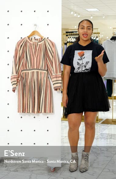 Julia Puff Sleeve Minidress, sales video thumbnail