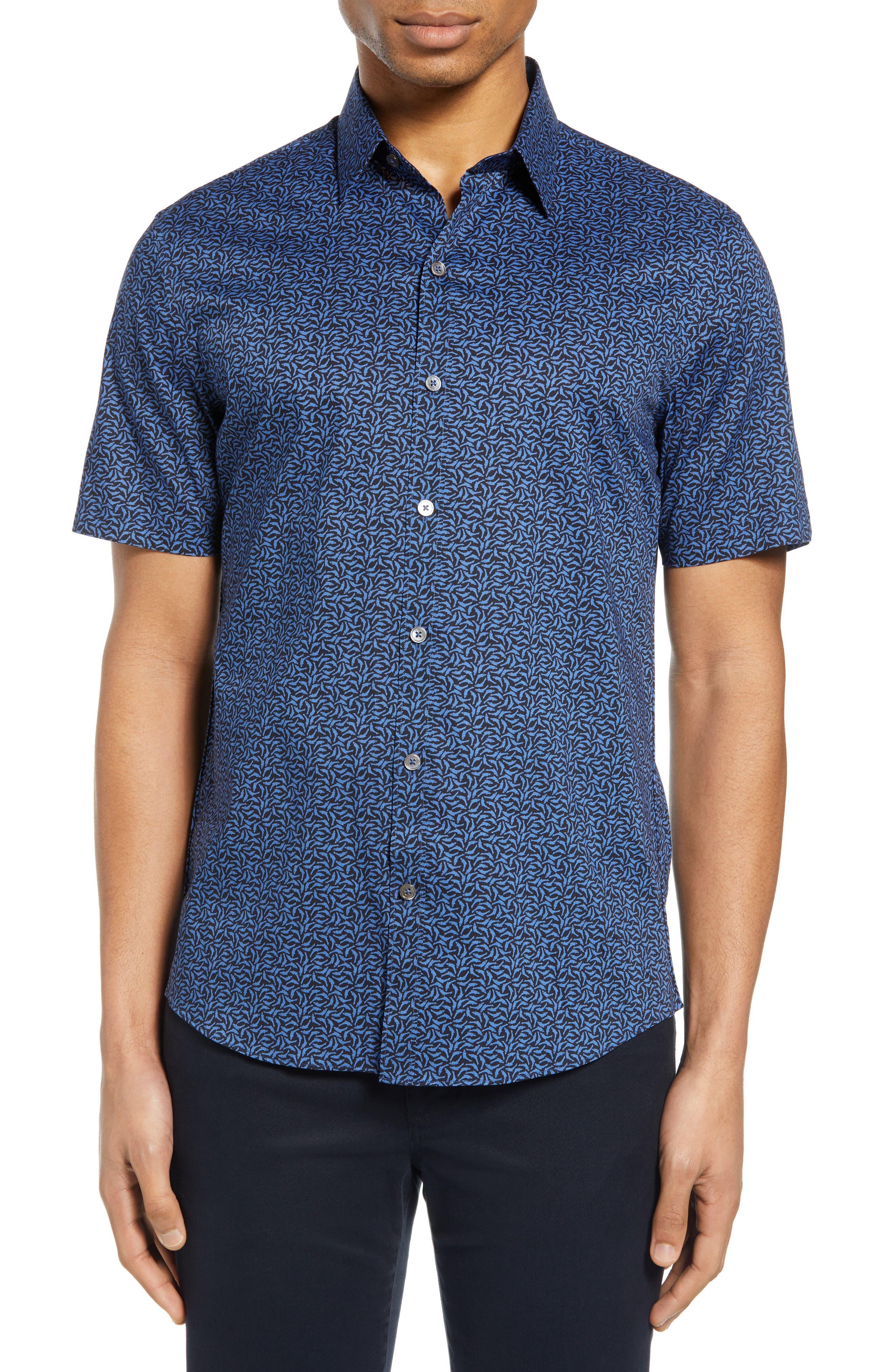 Image of Zachary Prell Oliver Regular Fit Short Sleeve Shirt