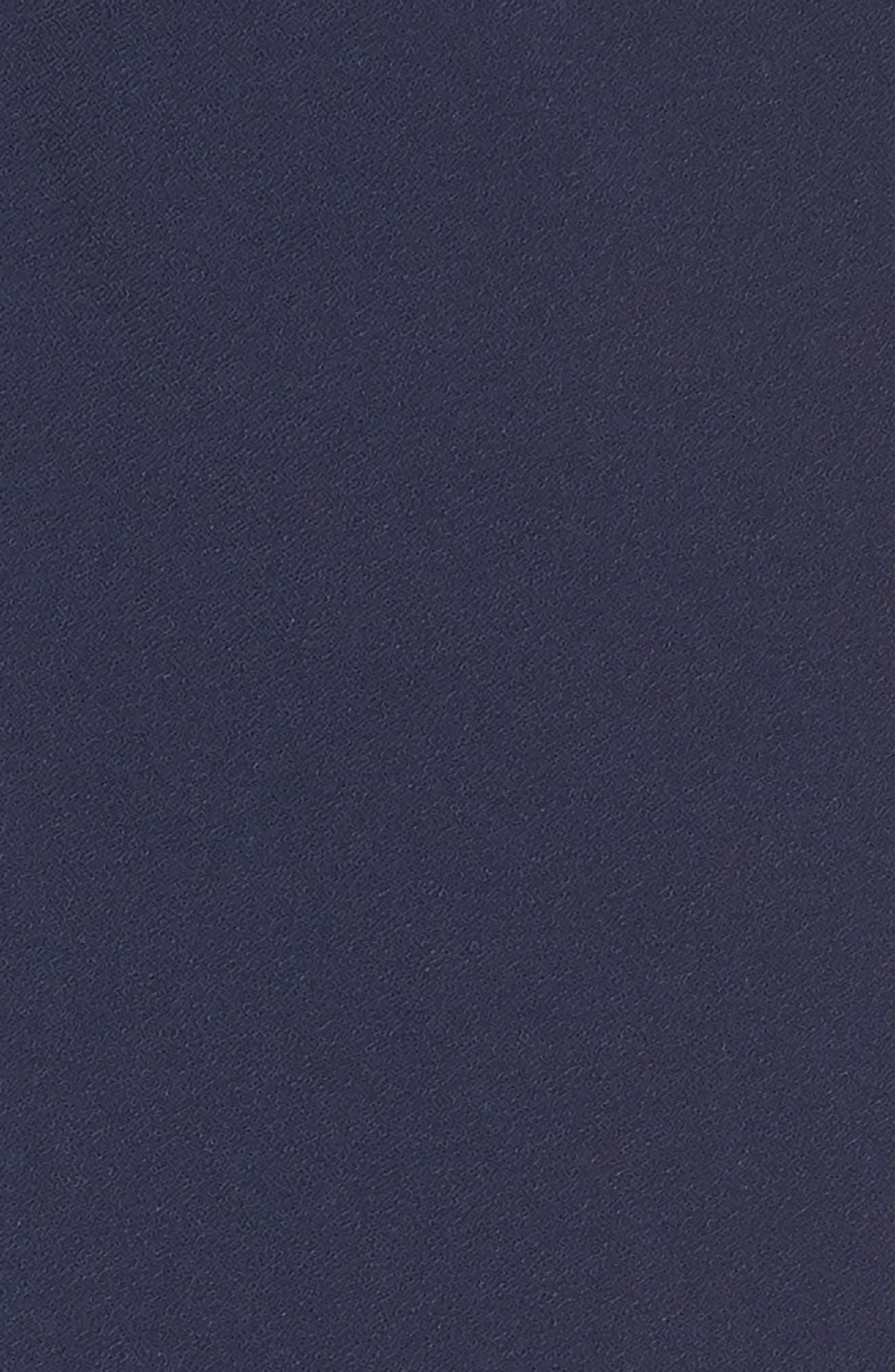 ,                             Sleeveless Slim Leg Asymmetrical Jumpsuit,                             Alternate thumbnail 6, color,                             NAVY