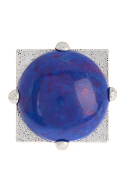 Image of Alex and Ani Cobalt Matrix Cocktail Ring