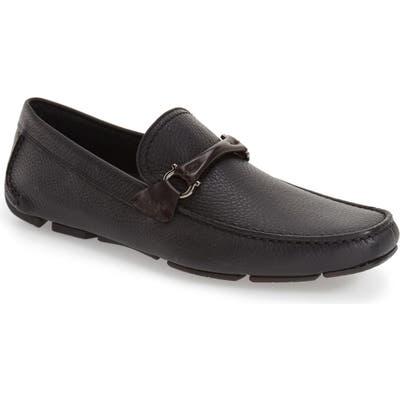 Salvatore Ferragamo Granprix Driving Shoe, Black