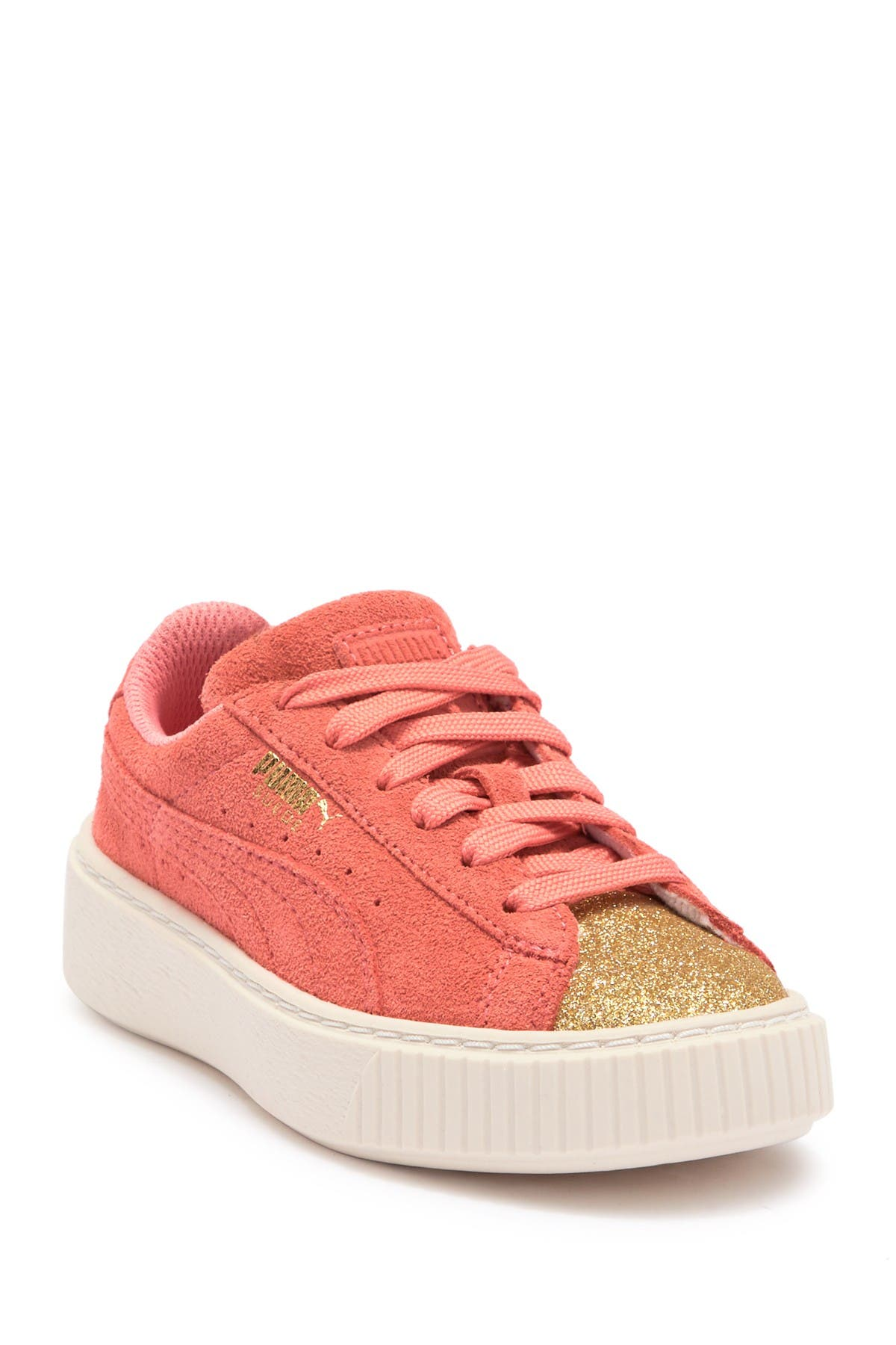 Image of PUMA Suede Platform Glam PS Sneaker