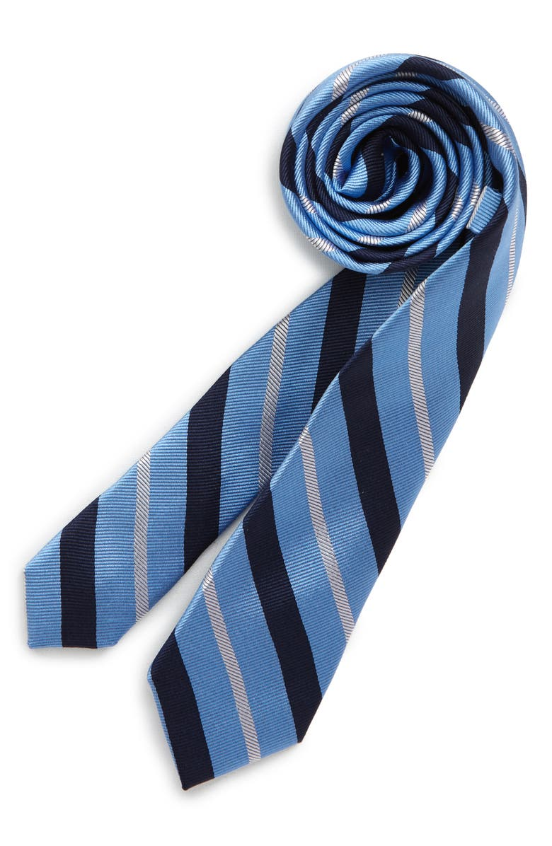 NORDSTROM Ismael Stripe Silk Tie, Main, color, 400