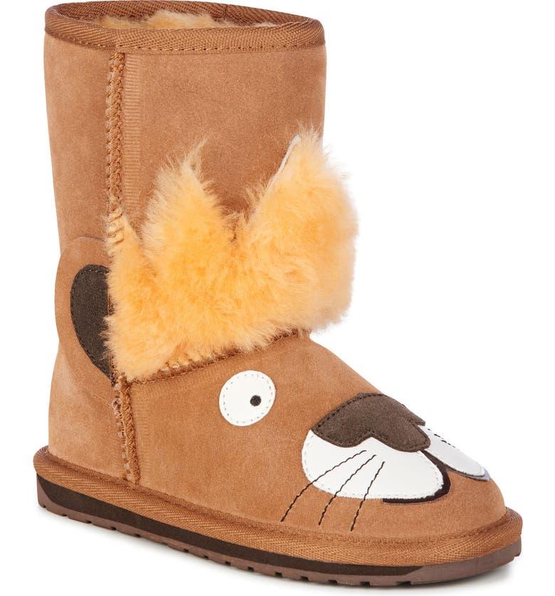 df4f3993094 EMU Australia Little Creatures - Leo Lion Boot (Toddler, Little Kid ...