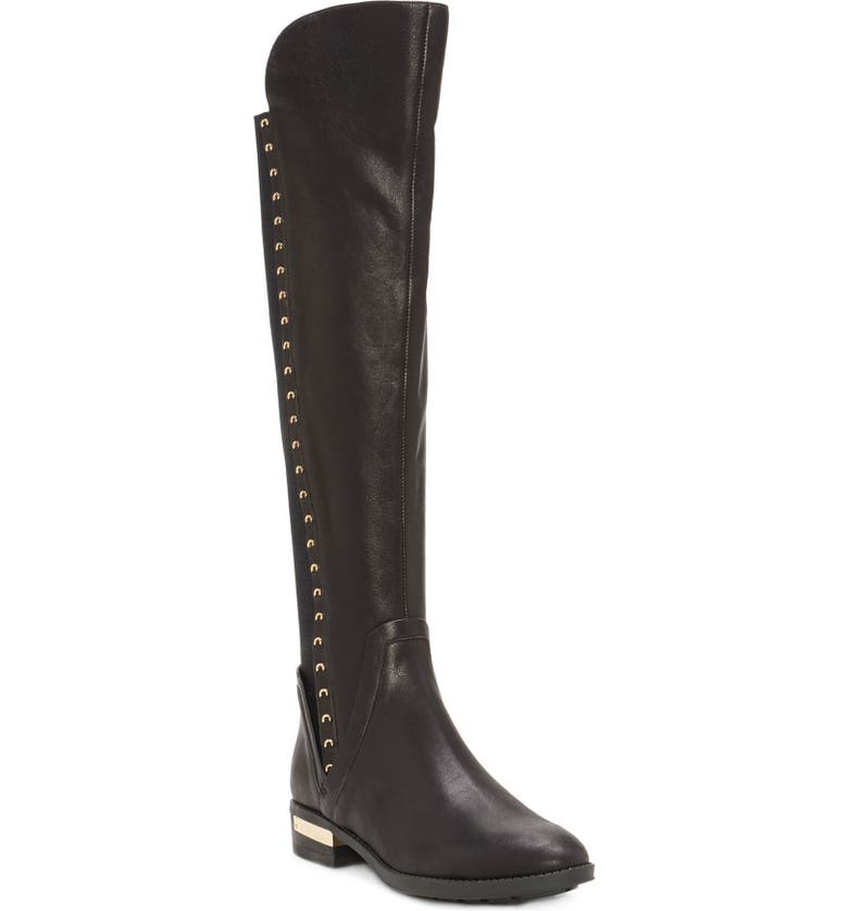 VINCE CAMUTO Pardonal Over-the-Knee Boot, Main, color, 001