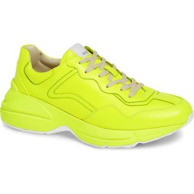 Gucci Rhyton Sneaker, Yellow