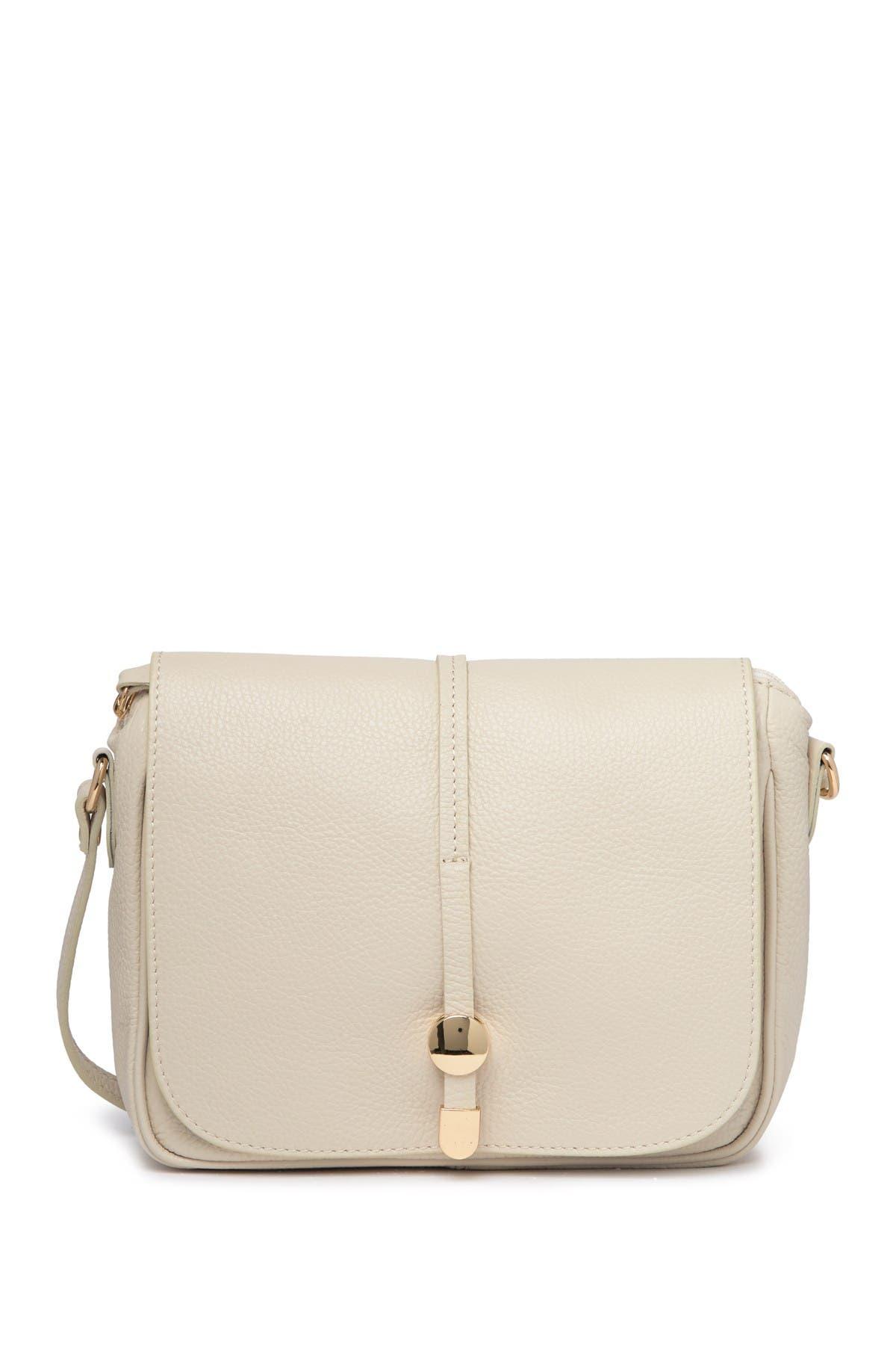 Image of Renata Corsi Leather Shoulder Bag
