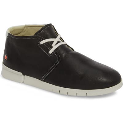 Softinos By Fly London Coi Chukka Boot, Black