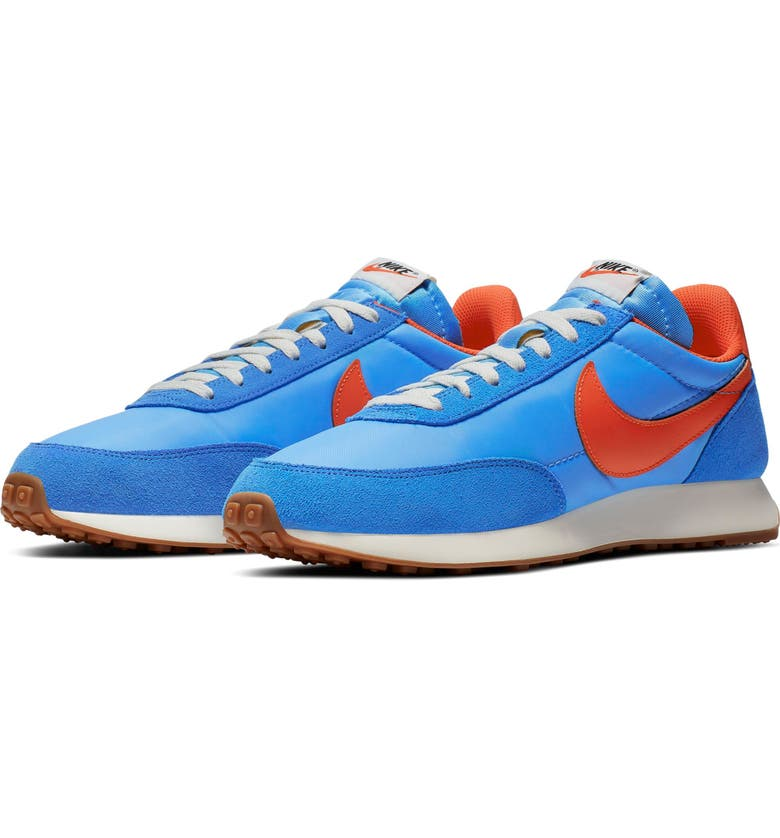 NIKE Air Tailwind '79 Sneaker, Main, color, PACIFIC BLUE/ ORANGE/ BLUE
