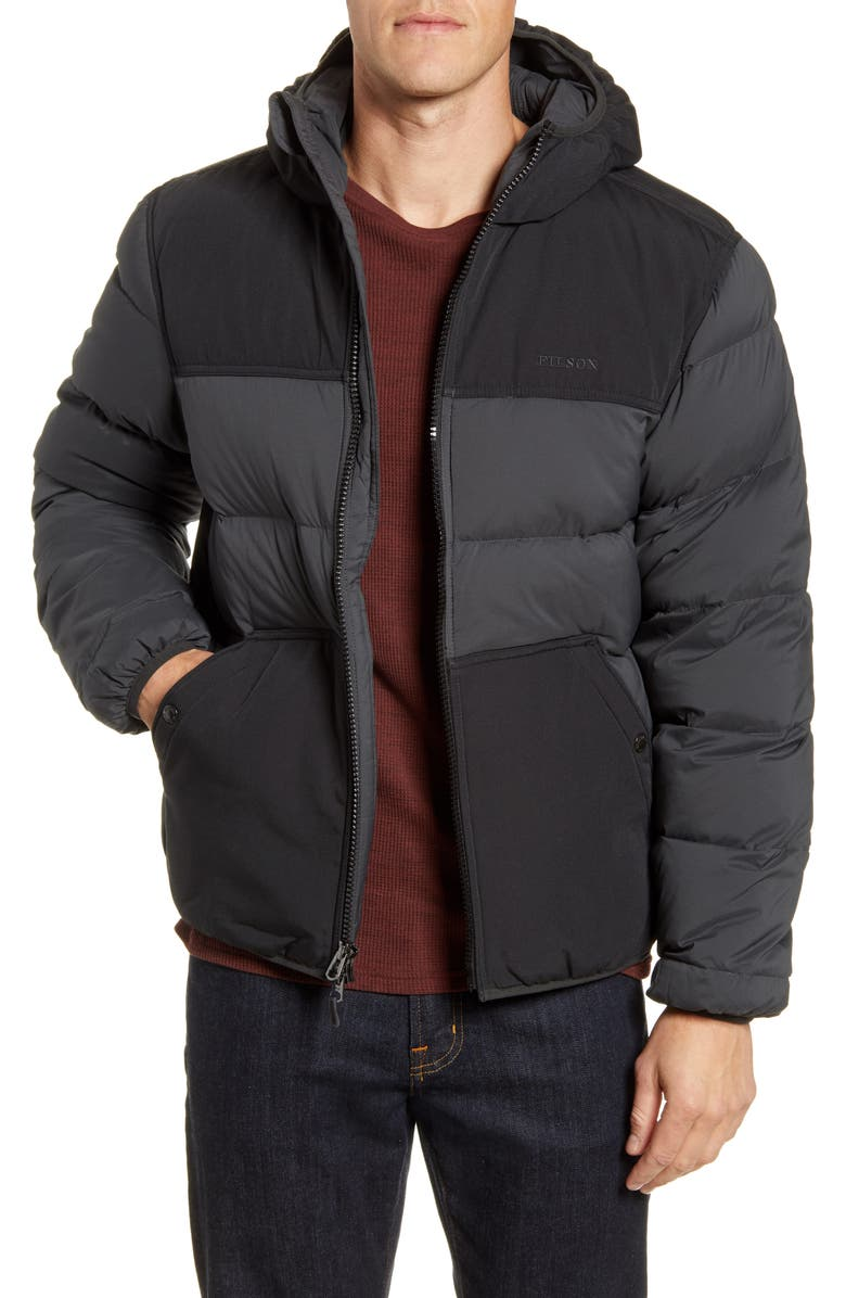 FILSON Featherweight Water Repellent Down Coat, Main, color, 009