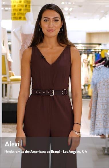 Sheila Clip Dot Floral Print Ruffle Dress, sales video thumbnail
