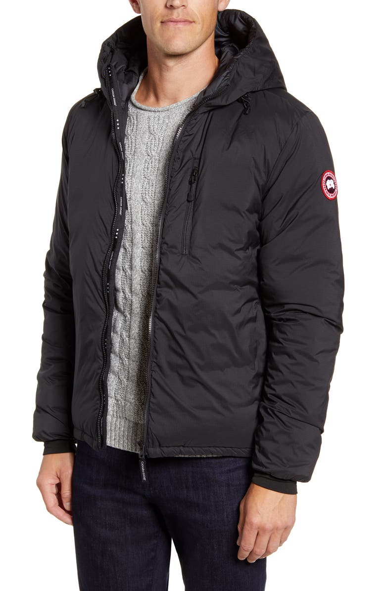 Lodge Packable Windproof 750 Fill Power Down Hooded Jacket