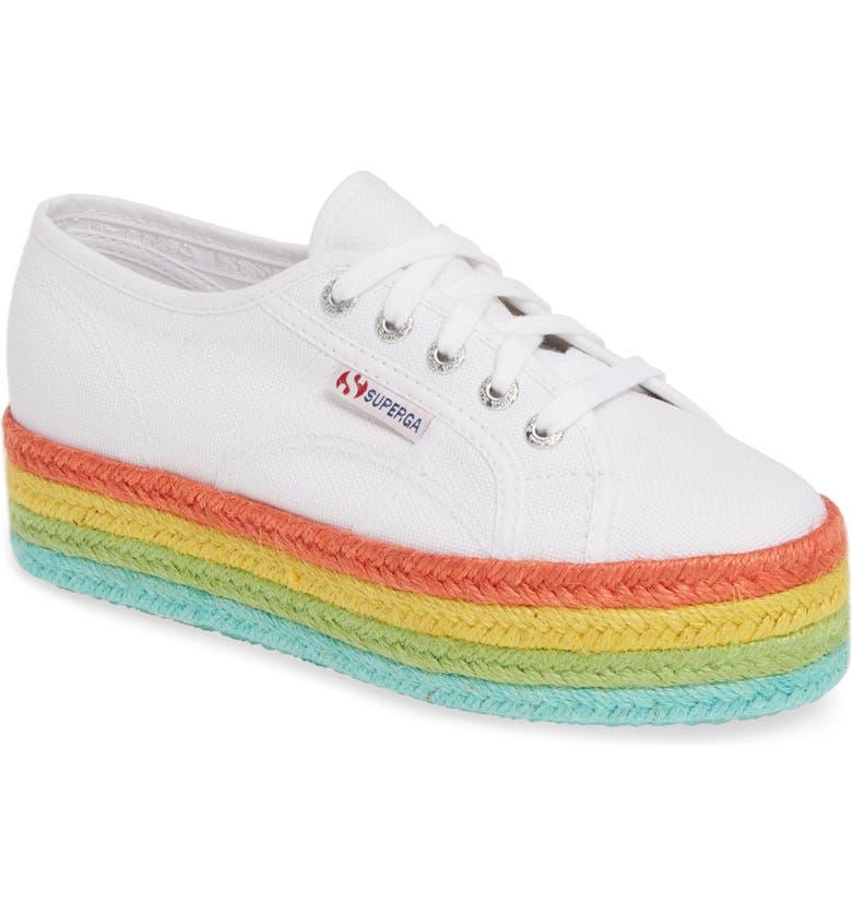 SUPERGA Cotcoloropew Espadrille Sneaker, Main, color, 193