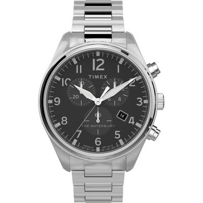 Timex Waterbury Traditional Chronograph Bracelet Watch, 42mm