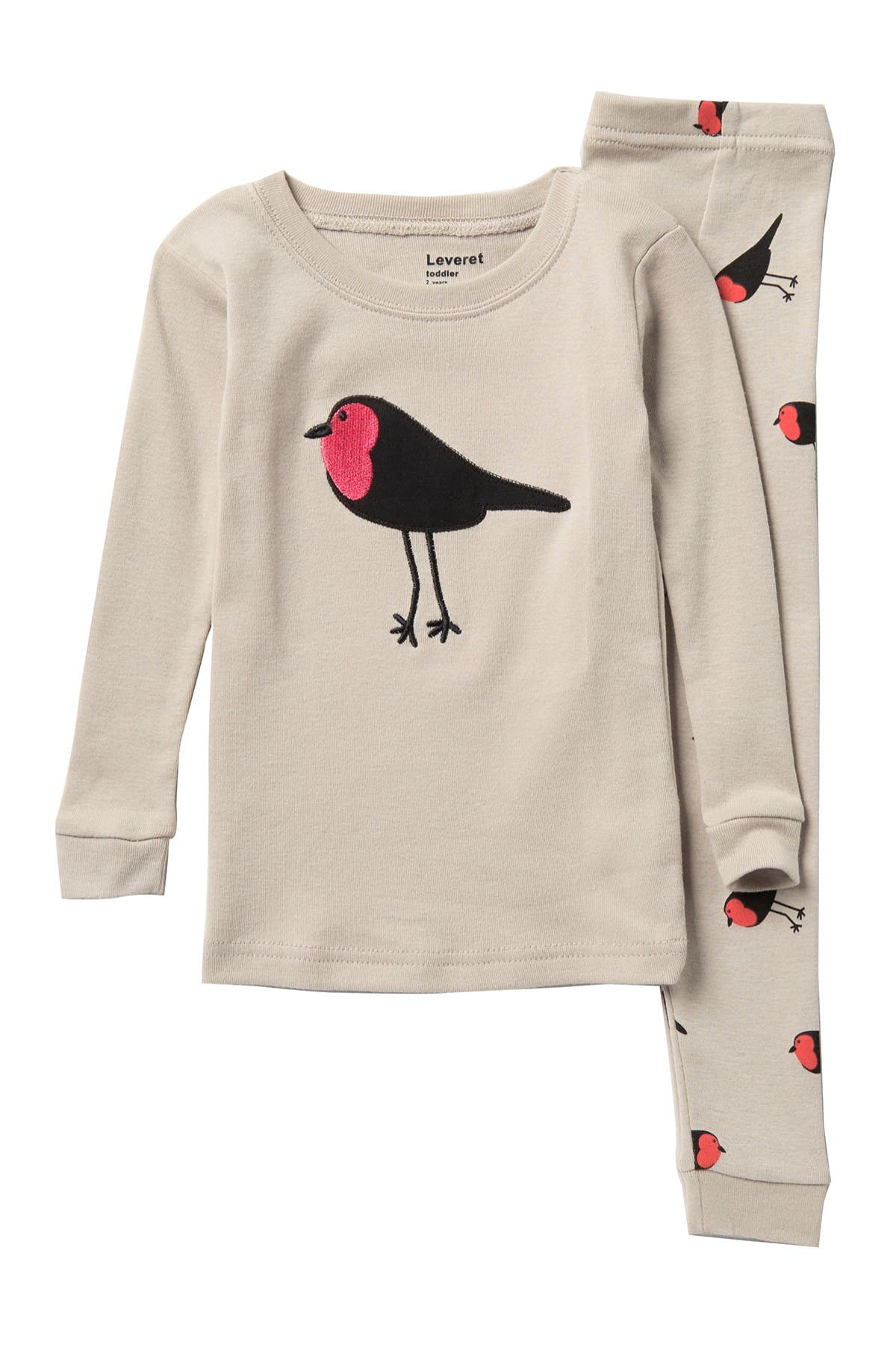 Image of Leveret Bird Pajama Set